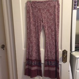 Free people boho bellbottoms